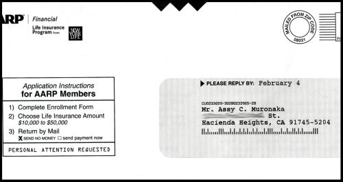 AARP letter 3