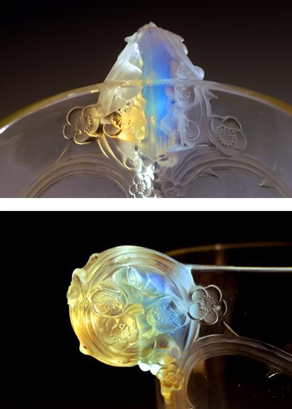 Lalique Rose Underside