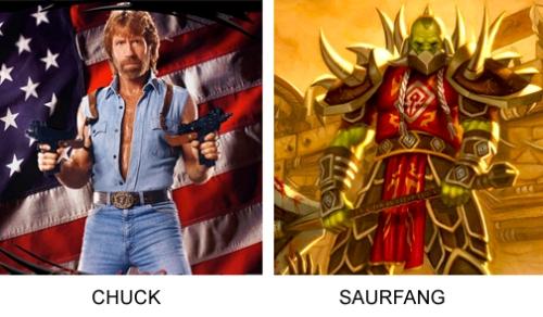 Chuck, Saurfang