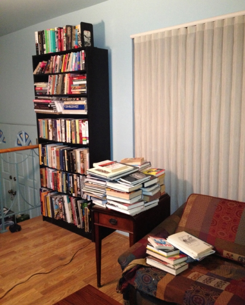 Culling the Bookcase