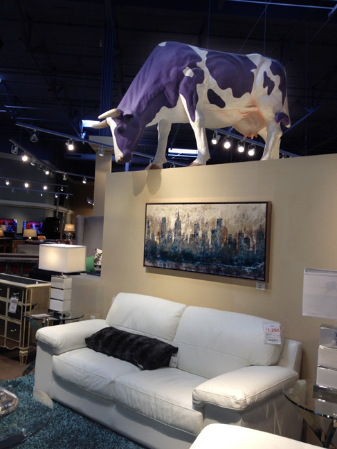 A smidge of cow