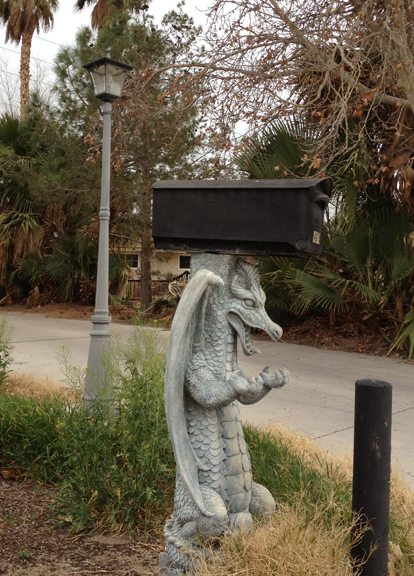 LV mailbox
